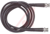 Cable Assy; 240 in.; 23 AWG; RG59B/U; Non Booted; Black Jacket; UL Listed -- 70197938 - Image
