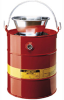 Steel Drain Cans with Funnel -- X175