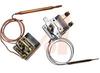 Thermostat; Bulb/Capillary; 75-140 deg.; Adj. set point; SPST, UL 240VAC, 20A -- 70098699