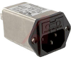 Filter, EMI; 250 VAC; 4 A (RMS) (Max.) @ 250 VAC; 0.45 mA (Max.); EMI -- 70133323 - Image