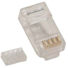 RJ45 Cat.6 Plug Solid 2 Prong w/Inserter 20pk -- 1014-SF-02-20