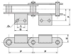 Conveyor Chain With Attachments(FV Series) -Image