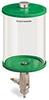 Green Color Key, Clear View Full Flow Manual Dispenser, 1/2 gal Pyrex Reservoir -- B5165-064PBGW -- View Larger Image