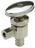 QQTV40GX - Chrome-plated, XL Brass Stop Valve -Image