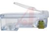 EZ-RJ45 CAT6+ STRAIN RELIEF (CLEAR). -- 70069458