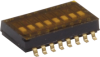 Surface Mount Half-pitch DIP Switches -- TDA Series - Image