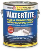 Waterproofing Paint,1 gal,Bright White -- 4HFF4