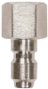 Quick Connect Stainless Steel Plug 1/4 in FPT Now -- VM-220041