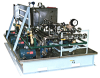 Lubrication System for Engine Test Facility, (9) Oil Supply/Scavenge Pumps, Stainless Steel Piping -- YE107