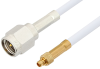 SMA Male to MMCX Plug Cable 36 Inch Length Using RG188 Coax -- PE34887-36 -Image