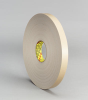 3M(TM) Double Coated Polyethylene Foam Tape 4492 White, 1/2 in x 72 yd 1/32 in, 18 per case Bulk -- 021200-24317