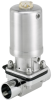 Type 2063 - 2/2 way diaphragm valve with pneumatic actuator in stainless steel (Type INOX) -- 2063 -Image