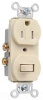 Combination Switch/Receptacle -- 691-TRI -- View Larger Image