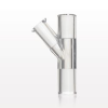 Y Connector with Female Luer Lock Side Arm -- 80205 -Image