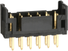 Rectangular Connectors - Headers, Male Pins -- H2854-ND