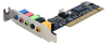 StarTech.com PCISOUND5LP 5-Channel Low Profile PCI Sound Ada -- PCISOUND5LP