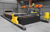 CNC Waterjet Cutting System -- Hydrocut LX