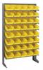 Bins & Systems - 4'' Shelf Bins (QSB Series) - Sloped Shelving Units - Single Sided Pick Racks - QPRS-102 - Image