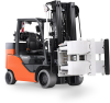 Internal Combustion Forklifts with Cushion Tires -- Paper Roll Special - Image