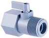 Plastic Two Way Ball Valve -- 425 Series -- View Larger Image
