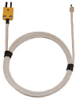 Digi-Sense Type-K High-Temp Ceramic Fiber-Insulated Probe Mini Conn Exp 5Ft 20-Gauge -- GO-08467-64