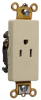 Duplex/Single Receptacle -- 26261-GRY -- View Larger Image