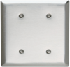 Blank Plates -- Strap Mounted, Two Gang -- SSO24 - Image