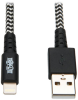 Heavy-Duty USB Sync/Charge Cable with Lightning Connector, 10 ft. (3 m) -- M100-010-HD - Image