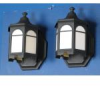 Pair Outdoor Wall Lights -- 10704WS