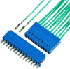 Board and Wire Connectors, 2.54 mm (0.100 in.), Crimp to Wire System, Number of contacts=14 -- 65239-007LF