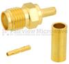 SMA Female (Jack) Connector For 0.100 inch, RG316, RG174, RG188, LMR-100, LMR-100A, LMR-100A-FR Cable, Crimp/Solder -- SC7078 -Image