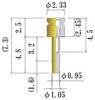Small Size Socket Pin -- NSB11V-GG -Image