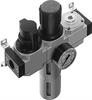 LFR-1/2-D-MAXI-KB Filter/Regulator/Lubricator Unit -- 186041 -Image