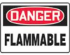 Accuform 'Danger: Flammable' Signs -- hc-17-998-062 - Image