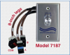 RJ45 Manual Network Switch, Cat5e, Rotary Switch -- Model 7187 -Image
