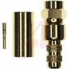 connector,rf coaxial,smc str plug,solder/crimp,for rg58,141,303,lmr195 cable -- 70032145