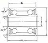 DW Series Control Ball Bearings -- DW5X