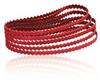 Dynabrade Coated Ceramic Sanding Belt - 120 Grit - 1/2 in Width x 24 in Length - Belt Shape: Narrow, Scalloped - 91386 -- 616026-91386
