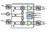 Dual RF to IF Downconverting Mixer -- IDTF1150