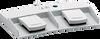 2-pedal Medical Foot Switch -- MKF 2-MED GP21 -Image