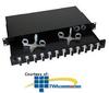 Hubbell Fiber Interconnection Shelf with Fiber Management.. -- FEUR12SCM