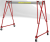 Tri-Adjustable Aluminum Portable Gantry Crane -- S6T10-A15