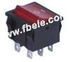 Miniature Rocker Switch -- MRS-202-4 ON-ON - Image