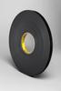3M VHB™ 25mil Firm Black Acrylic Foam -- 4929 -- View Larger Image
