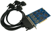 PCI 4-Port RS-232, RS-422, RS-485, RS-530, RS-530A, V.35 Synchronous Serial Interface (uses Z85230) -- 5402