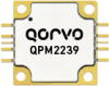 13 - 15.5 GHz 80 W GaN Power Amplifier Module -- QPM2239 - Image