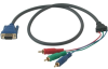 Cables To Go 3-Foot Ultima HD15 To RCA HDTV Component Video -- 29640