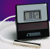 Solar/AC Powered Thermistor Thermometers -- DP750 Series