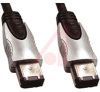IEEE1394 6ckt to 6ckt plugs Metal Shells- 15 ft -- 70159506 - Image