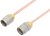 2.4mm Male to 1.85mm Male Cable 6 Inch Length Using RG405 Coax -- PE36527-6 -Image